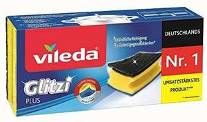 [Amazon Prime] Vileda Glitzi Plus Topfreiniger, 4 × 3er Pack (Nimm 4 zahl 3 Aktion)