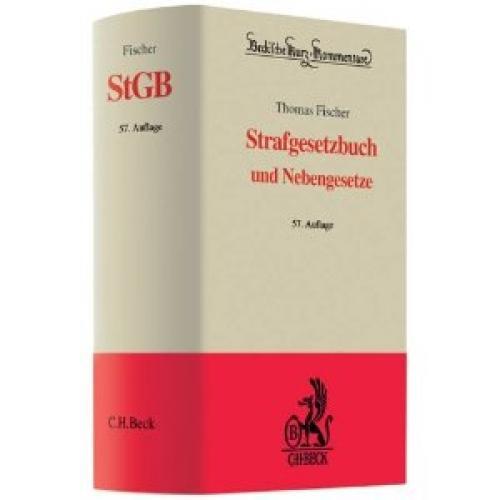 Fischer Strafgesetzbuch und Nebengesetze StGB 59. Auflage 2012 für nur 21,- EUR inkl. Versand! [gebraucht]