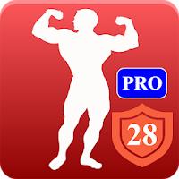 Heimtraining Gym Pro - Bodybuilding- & Fitness-App für Training ohne Geräte (4,8* >500.000 Downloads, keinerlei Werbung) [Android-Freebie]