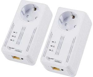 Allnet 500Mbit Powerline Homeplug AV 2er Pack @ notebooksbilliger.de