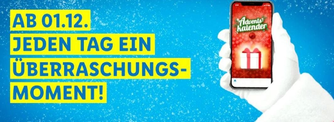 Lidl Plus Adventskalender 5€ Gutschein ab 35€, Gratisartikel ab 15€ MEW, Onlineshop Kostenloser Versand ab 59€ MBW
