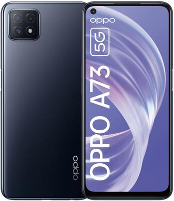 "[Expert] Oppo A73 5G - 6,5"" FHD+ Dual-SIM Smartphone (8/128GB, 90Hz, MT6853, USB-C,NFC, 4.040mAh)"