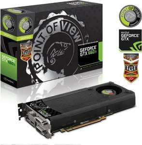 [Online] Point of View GeForce GTX 660 Ti TGT Charged Single Fan
