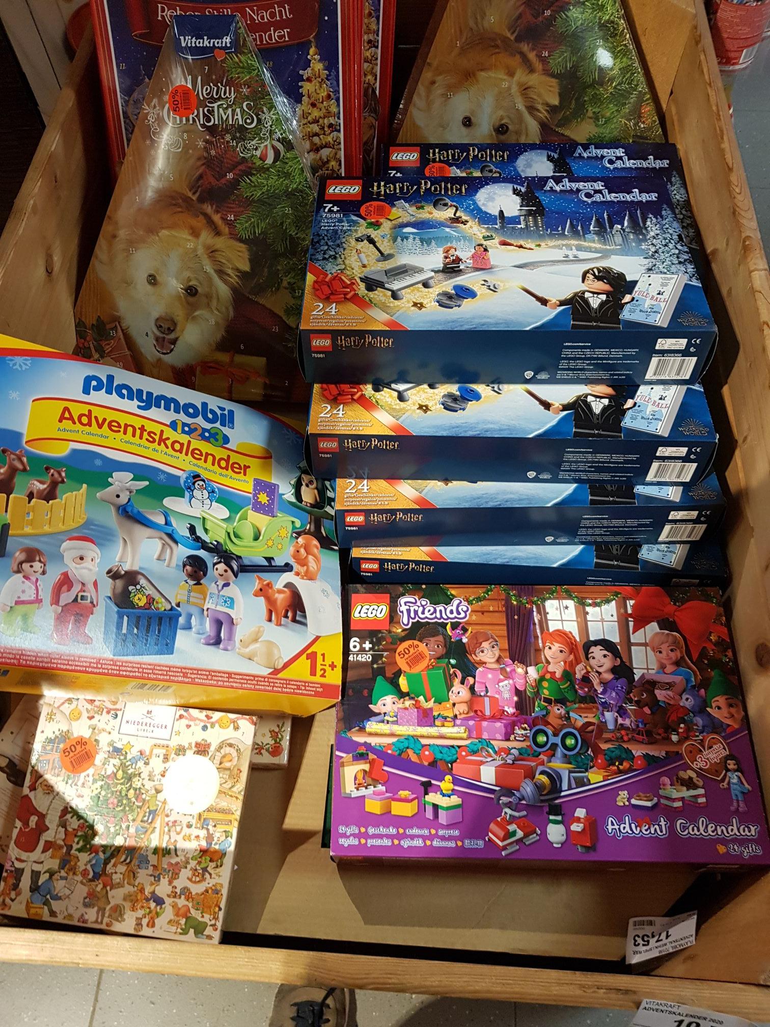 (Lokal Seesen/Edeka) Lego Adventskalender Harry Potter 75981