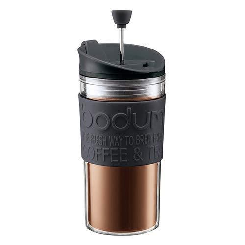 (Amazon Prime) Bodum Travel Press Set Kaffeebereiter mit extra Trinkaufsatz, 0.35 l