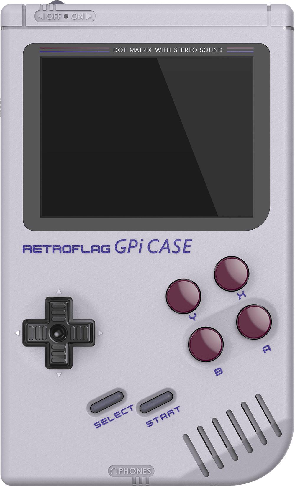 """Retroflag GPI Case für Raspberry Pi Zero (Gameboy Design, 2.8"""" Display, 8-Bit, 3.5mm Klinke, USB Port, AA betrieben)"""
