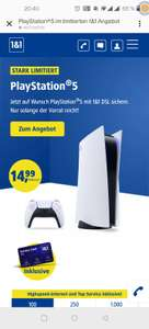 1&1 100.000 Internet plus Playstation 5 für 59,98€