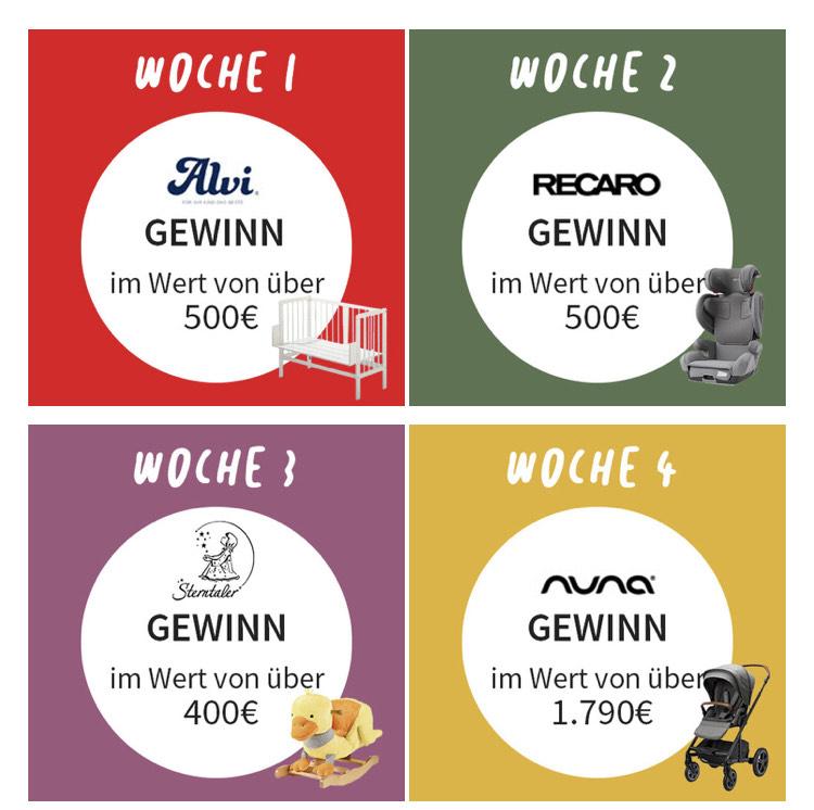 Babyone: 5 EUR (25 EUR MBW) im Adventkalender für die Newsletteranmeldung