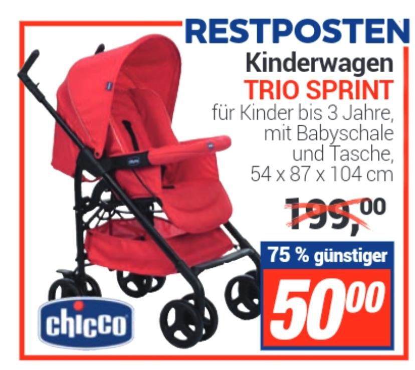 [ Lokal Centershop ] Chicco Kinderwagen Trio Sprint * Restposten *