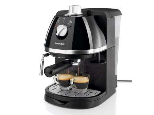 Silvercrest SEM 1100 A2 Espressomaschine für nur 34,90 EUR inkl. Versand!