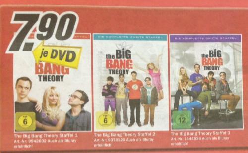 [Lokal Kreis Aachen MM] Big Bang Theory DVD Staffeln