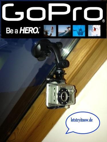 Saugnapf Halter für die GoPro für nur 17,98 EUR inkl. Versand!