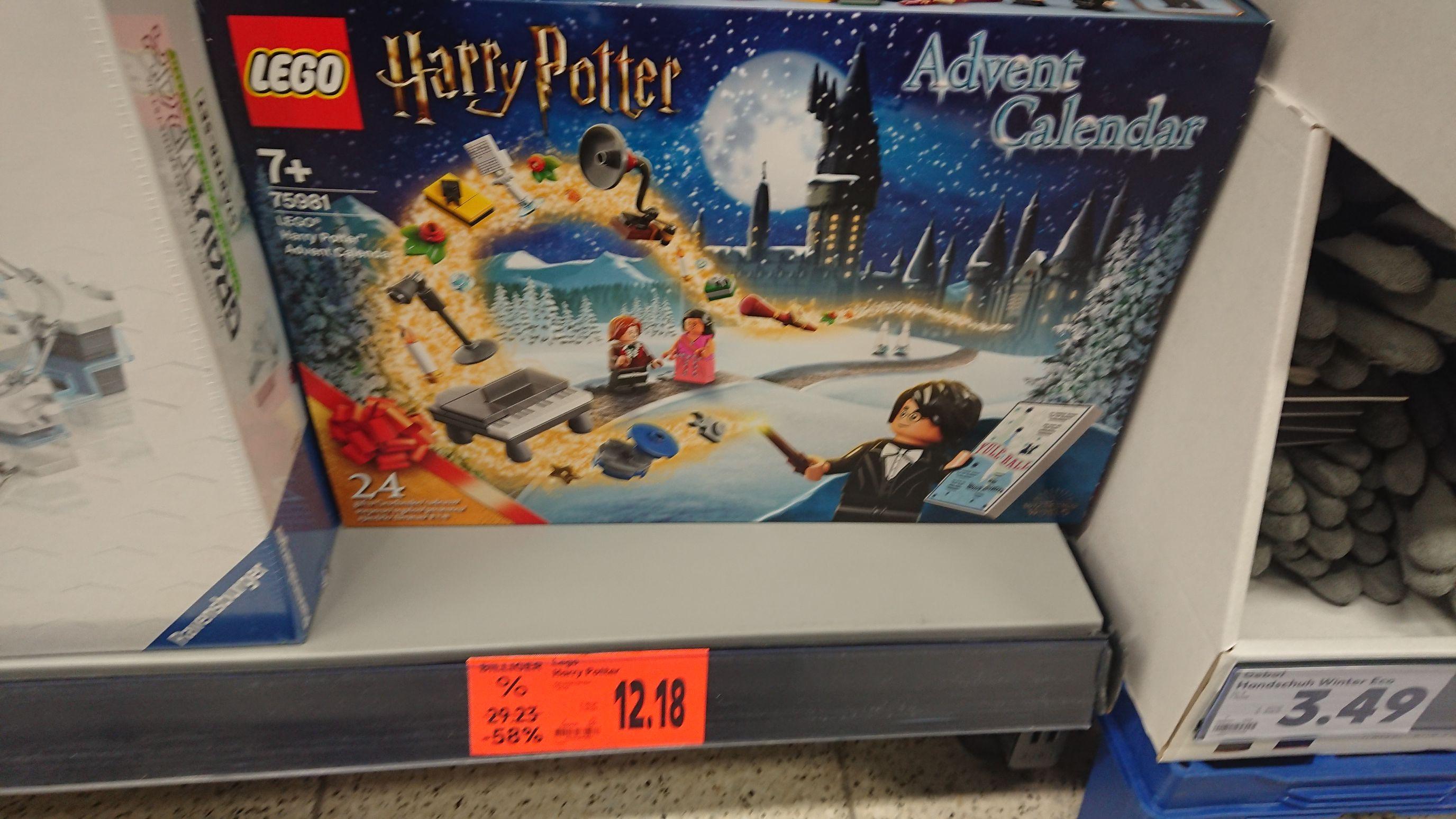 Lego Harry Potter Adventskalender Lokal Kaufland Leipzig Paunsdorf Center