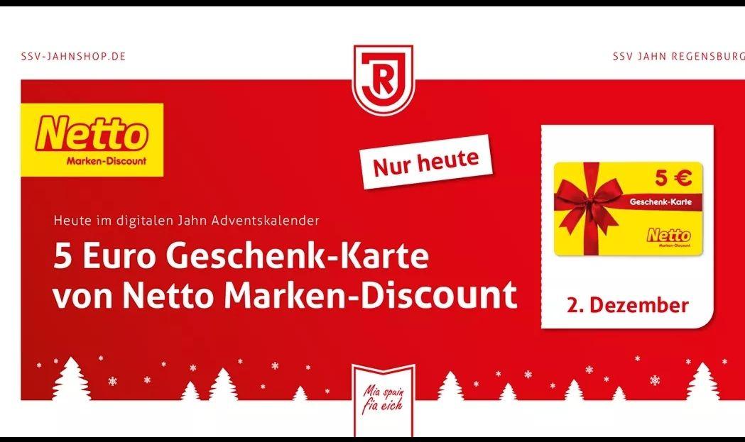 Jahn Regensburg: 5 Euro Netto Gutschein ab 50 Euro Einkaufswert
