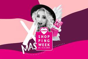 Glamour X-Mas Shopping Week vom 04.12.-13.12.