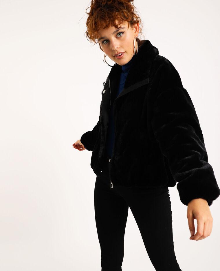 30% Rabatt auf alle Jacken und Mäntel (online & offline), z.B. Blouson aus Kunstfell
