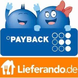 15 Fach Payback Punkte bei Lieferando vom 07.12. bis 13.12. / entspricht ca. 7,5% Cashback (ausgew. Kunden)