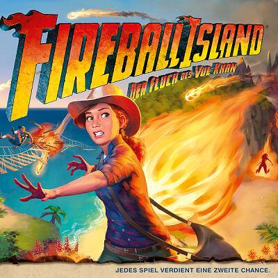 Fireball Island: Der Fluch des Vul-Khan (Brettspiel, Gesellschaftsspiel)