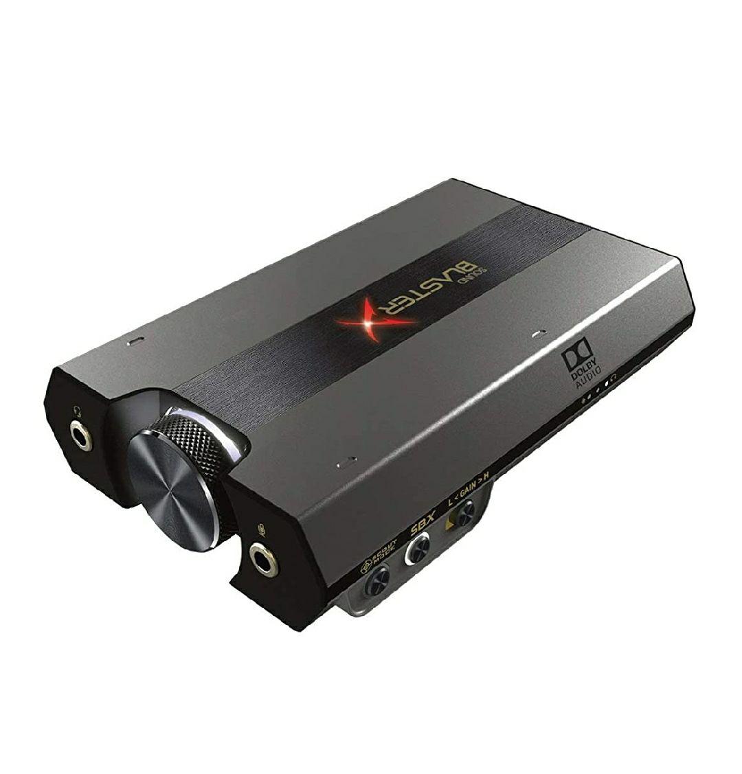 Sound BlasterX G6 HD externe Gaming-DAC- und USB-Soundkarte