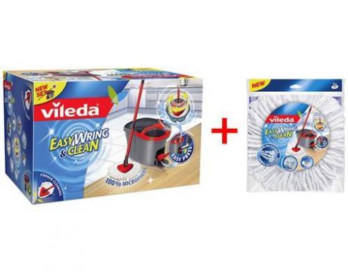Vileda Easy Wring & Clean + Ersatzwischbezug 28,80€ versandkostenfrei