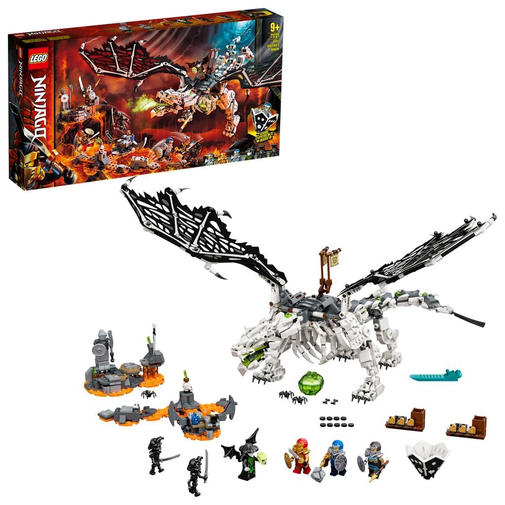 LEGO Ninjago 71721 Drache des Totenkopfmagiers und weitere Ninjago Sets