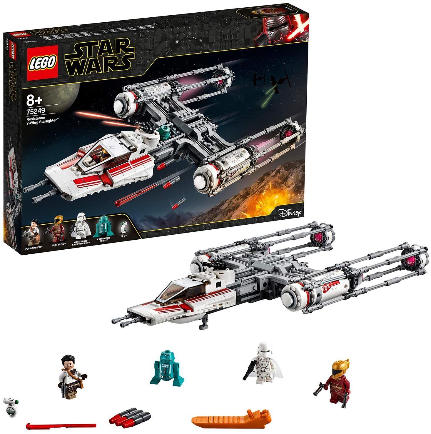 LEGO 75249 Star Wars Widerstands Y-Wing Starfighter Bauset - 578 Teile