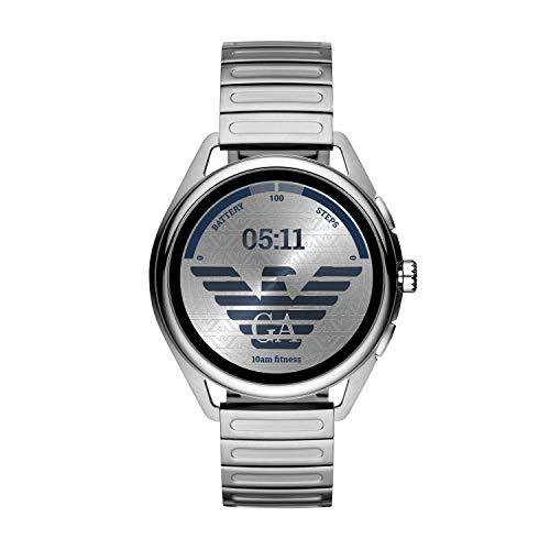 [Amazon.fr] Emporio Armani Smartwatch ART5026 mit WearOS (Pulsmessung, Aufzeichnung der Herzfrequenz und Aktivitätstracking, GPS)