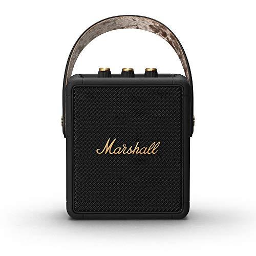 [Amazon.fr] Marshall Stockwell II Tragbarer Lautsprecher - Schwarz und Messing ( Exklusiv bei Amazon)