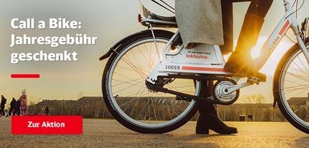 Call a Bike Jahresgebühr geschenkt (Basis-Tarif)