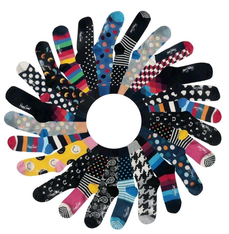 Happy Socks ein Paar, Größe 36-46, versch. Modelle, ZEEMAN
