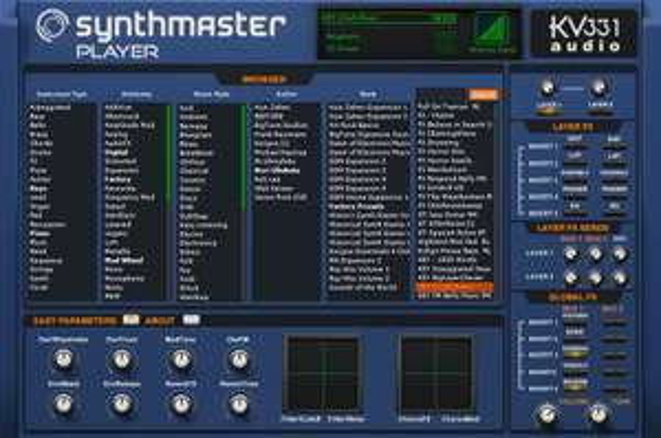 KV331 Audio SynthMaster Player für Mac/Windows/iPad temporär kostenlos [ VST / AU / AAX / AUv3 / Musikproduktion ]