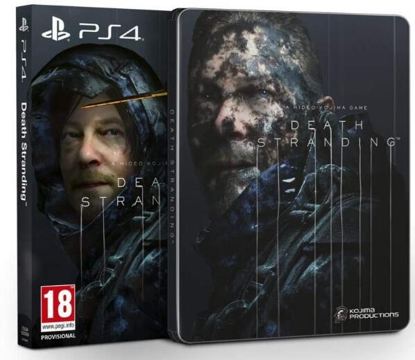 Death Stranding - Special Edition mit Steelbook (PS4) für 28,26€ (Amazon FR)