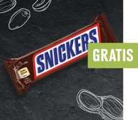 [Edeka Genuss+ App] Lokal Edeka Nord - 1 x Snickers 50g Riegel gratis - Freebie mit Aktionscode