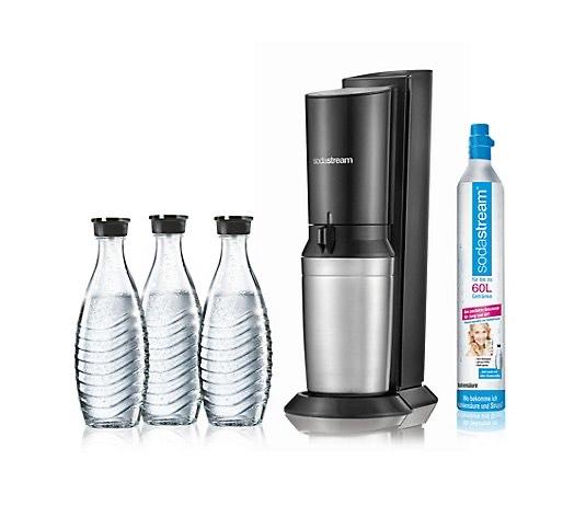 Sodastream Crystal 2.0 inkl. 3 Glaskaraffen (5 Jahre Garantie)