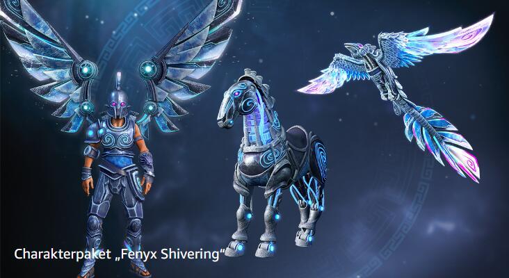 "Immortals Fenyx Rising - Charakterpaket ""Fenyx Shivering"" kostenlos mit Amazon / Twitch Prime"