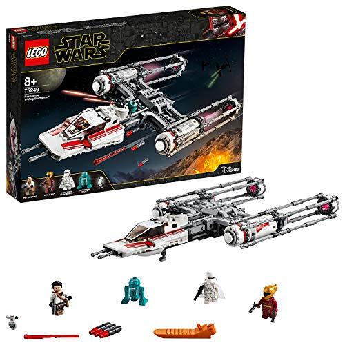 LEGO 75249 Star Wars Widerstands Y-Wing Starfighter Bauset für 43,29€ inkl. Versandkosten