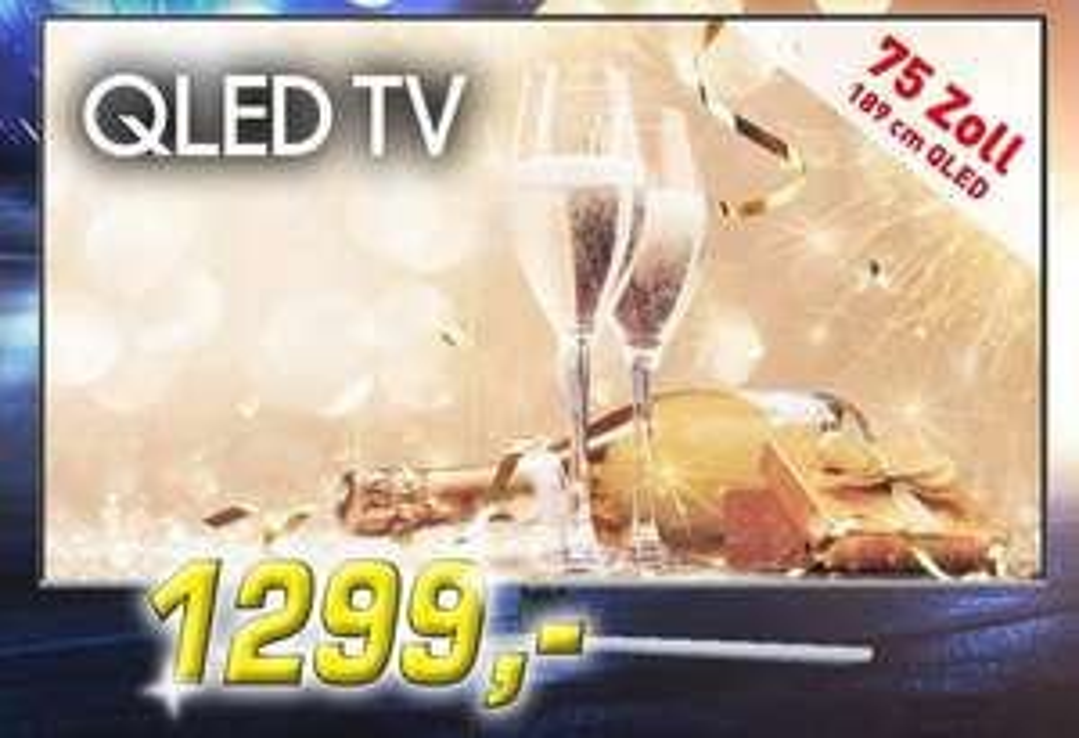 Samsung QLED GQ75Q64TGU (75 Zoll) zum Bestpreis