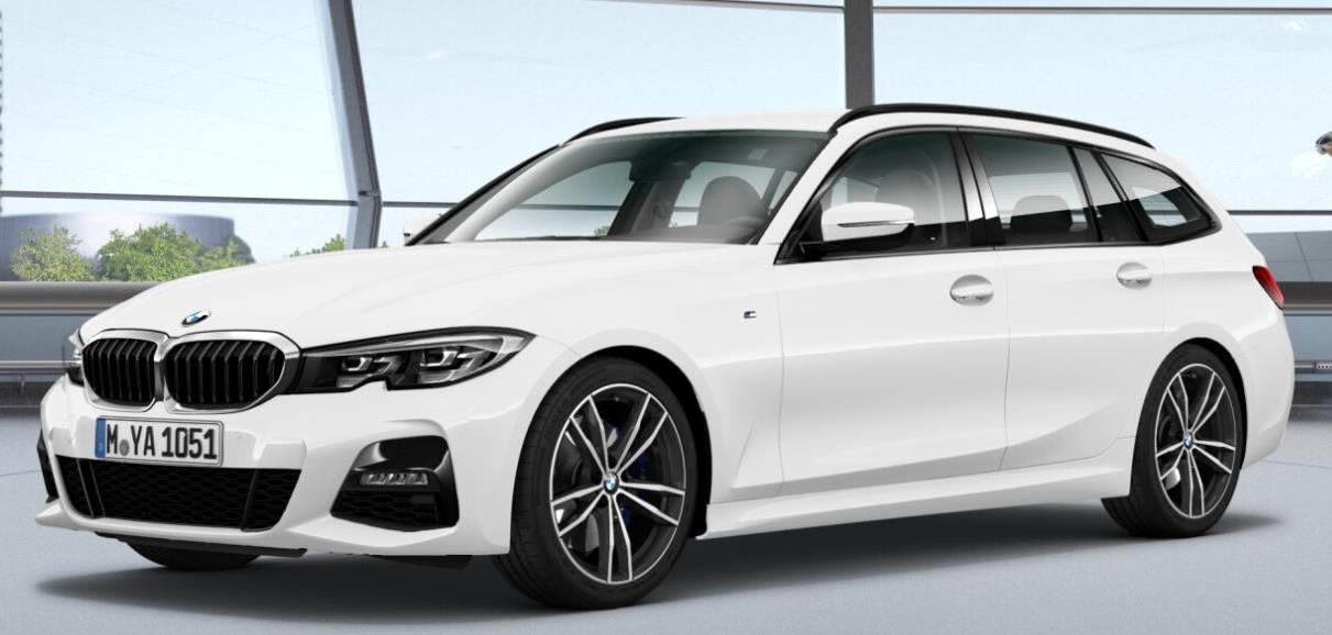Autokauf: BMW 330d Touring M-Sport 3.0 / 265 PS mit EZ 2020 (Jahreswagen) für 42888€ (Verfügbarkeit: Dez 2020) - Gebrauchtwagen