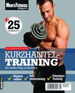 Gratis Magbook über Kurzhantel Training von Mens Fitness
