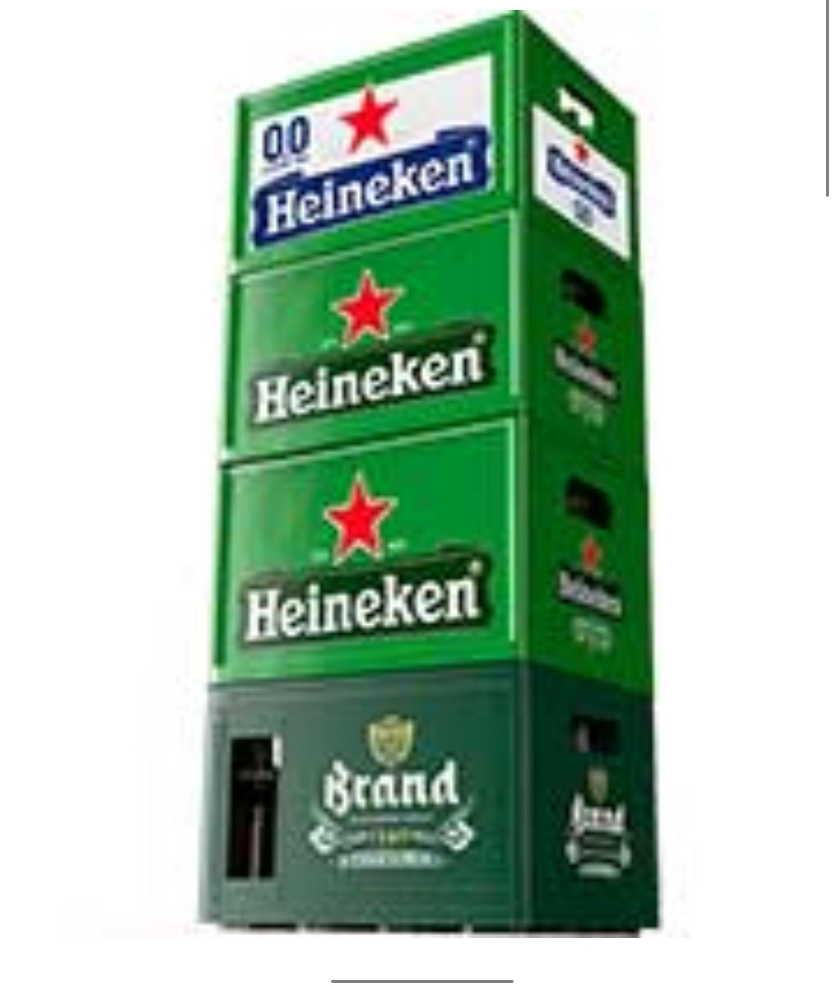 (GRENZGÄNGER NL) AlbertHeijn - 1 Kiste 24x0,3L Heineken, Heineken 0,0% oder Brand für 9,99 + Pfand 3,90
