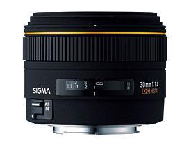 Sigma Objektiv AF 30mm 1.4 EX DC für Sony / Nikon / Canon / Pentax