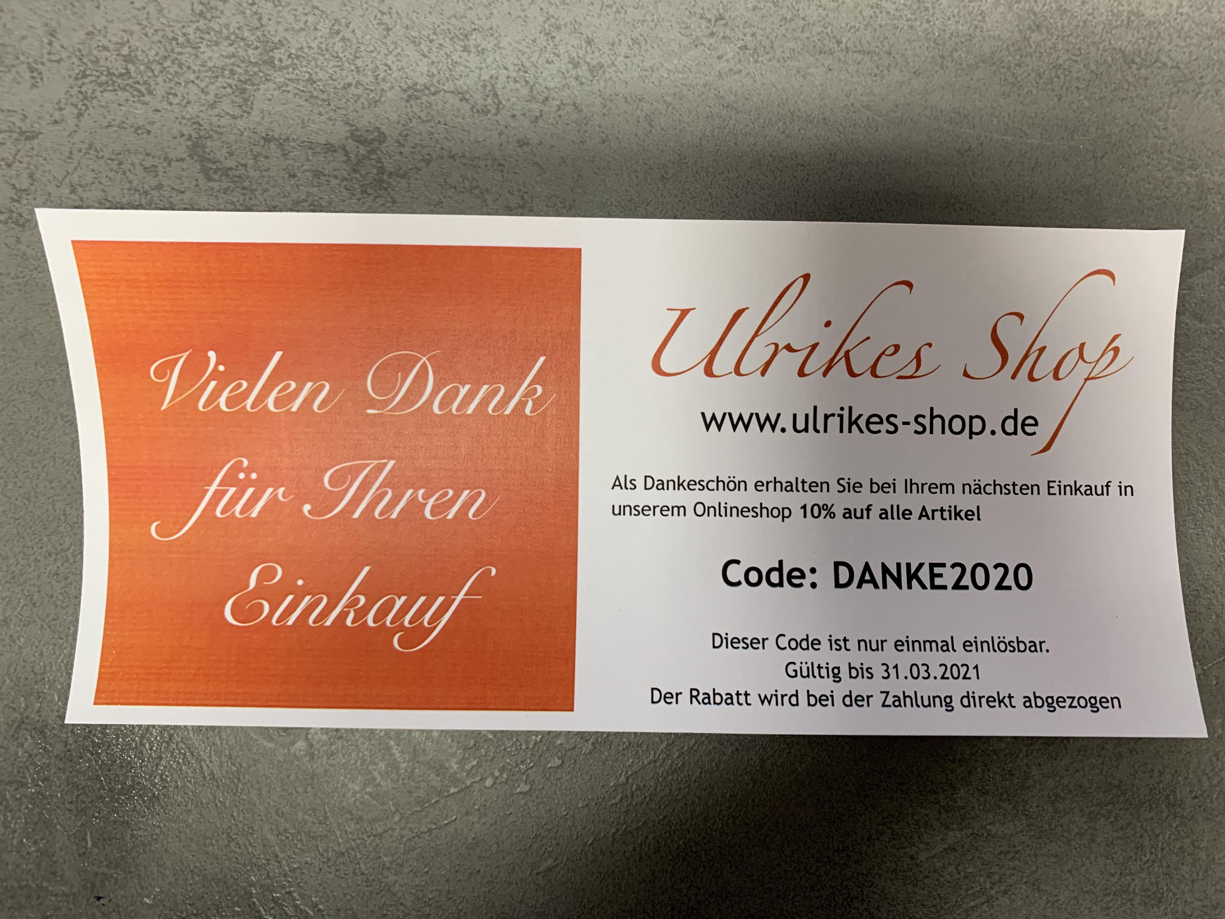 10% auf ALLES bei Ulrikes Shop (Spielwaren, Liora Schmuck, Amateurfunk)