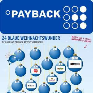 PAYBACK Adventskalender - Alle Coupons bis 24.12.