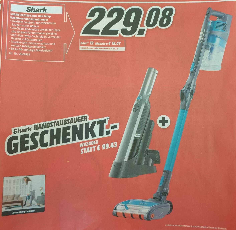 [Media Markt] Shark IZ201EUT + Shark WV200EU geschenkt