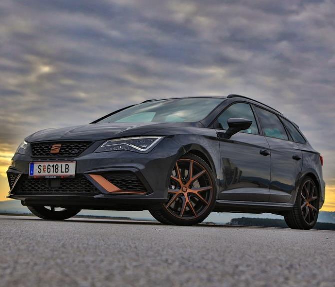 Privatleasing: Seat Leon ST CUPRA R 4Drive / 300PS (sofort verfügbar) für 199€ monatlich inkl. Überführung - LF:0,39