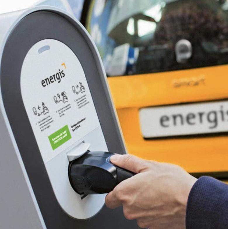 Ladeflat (12 Monate) für energis Stromkunden