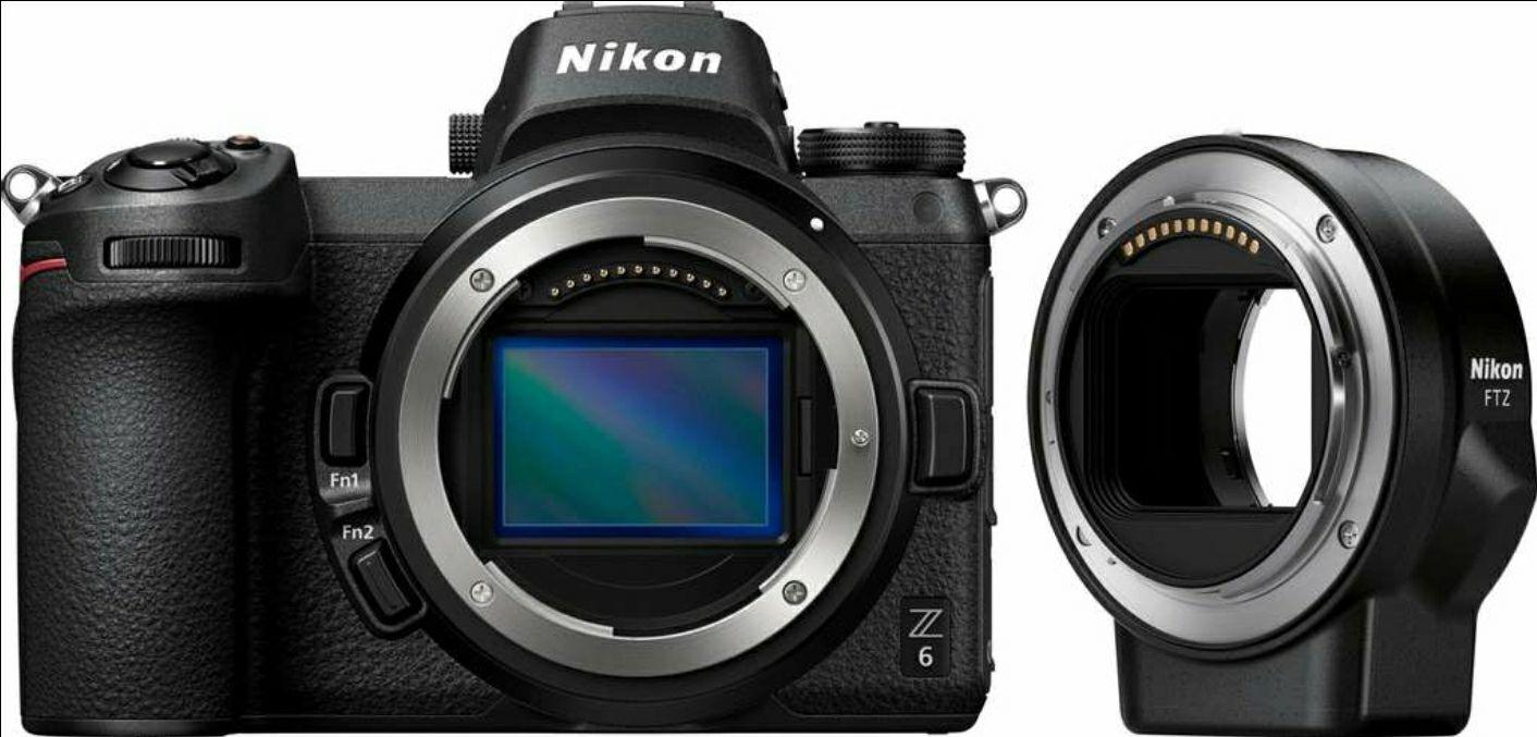 Nikon Z6 mit FTZ Adapter
