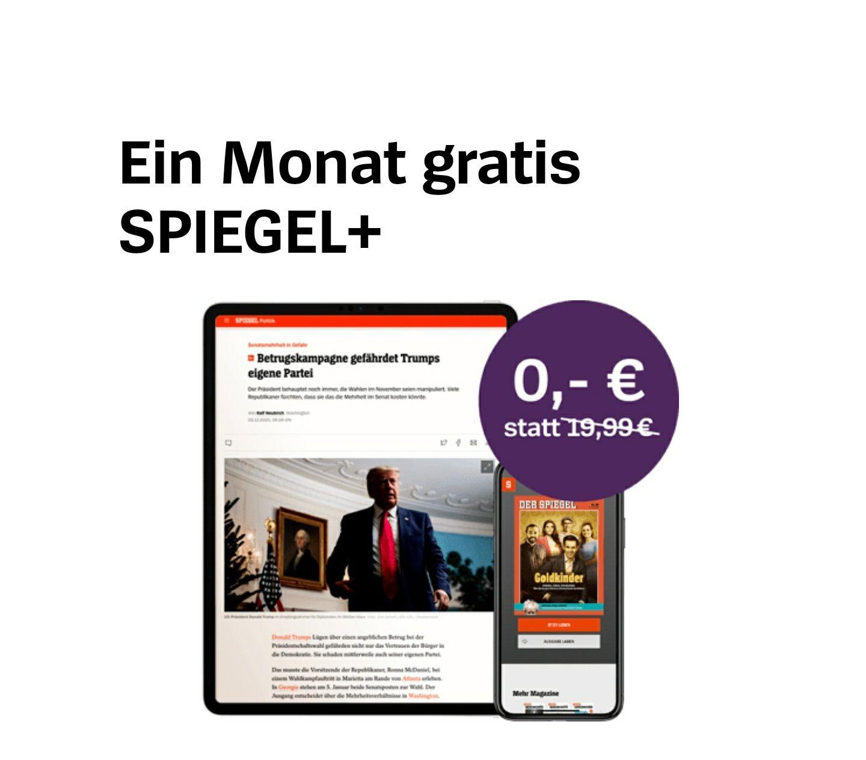 Für Neukunden: Spiegel PLUS mit Black-Week-Gutschein einen Monat gratis