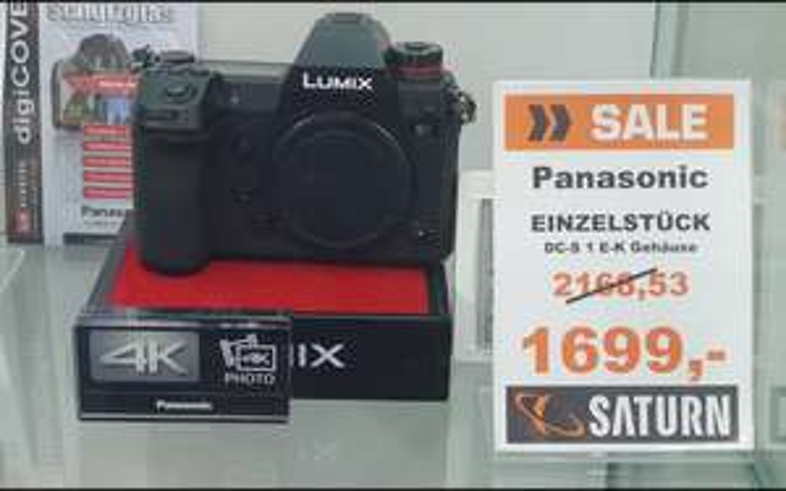 [Lokal Saturn Alex] Panasonic Lumix DC-S1 Einzelstück