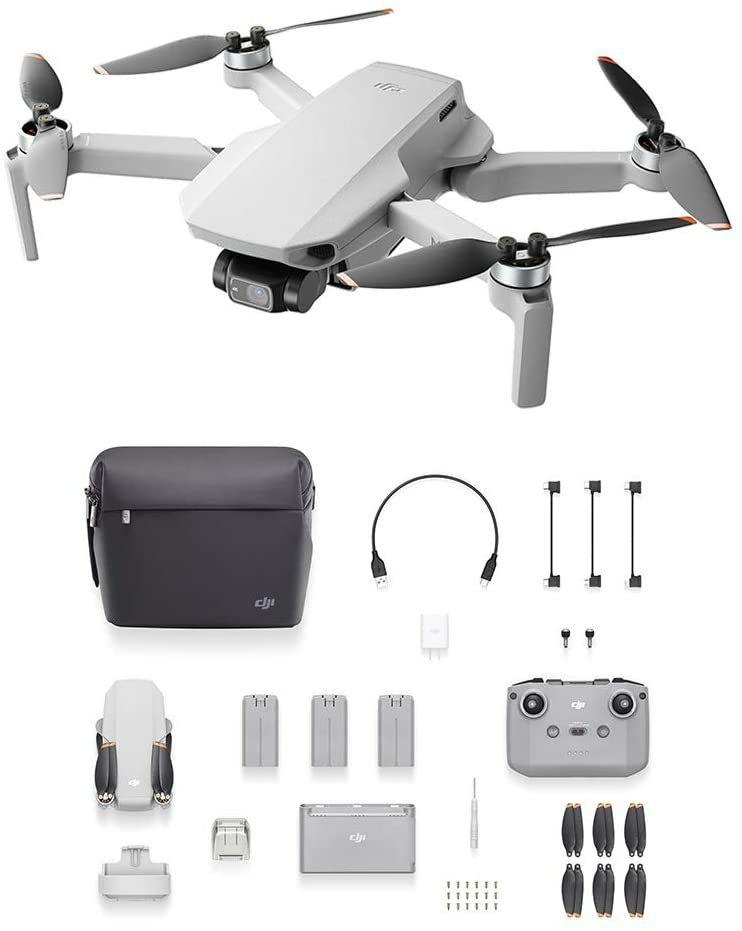 DJI Mini 2 Fly More Combo Drohne (Amazon.it)